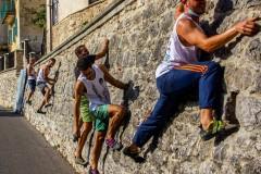 Arrampicata a Carpineto